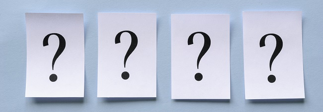 Four types of questions